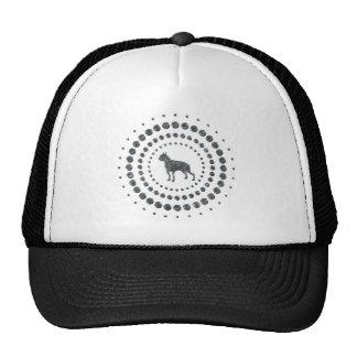 Boston Terrier Chrome Studs Hats