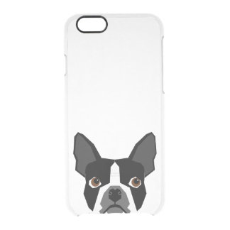 Boston Terrier clear case - iphone case