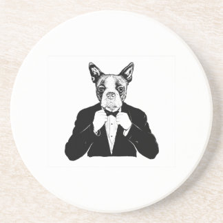 Boston Terrier Coaster