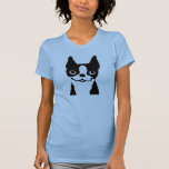 Boston Terrier - Cute Smiley Face Dog T-Shirt