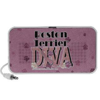 Boston Terrier DIVA Mp3 Speakers