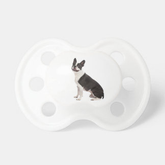 Boston Terrier dog beautiful photo baby soother Baby Pacifiers