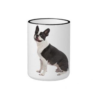 Boston Terrier dog beautiful photo coffee mug gift