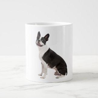 Boston Terrier dog beautiful photo gift Jumbo Mug
