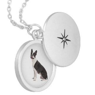 Boston Terrier dog beautiful photo locket, gift Locket Necklace