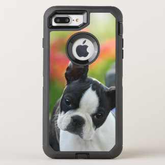 Boston Terrier Dog Cute Puppy - Phone-protection OtterBox Defender iPhone 8 Plus/7 Plus Case
