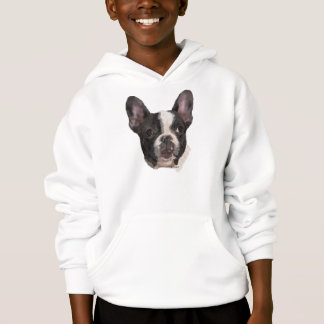 Boston Terrier Dog Portrait Print