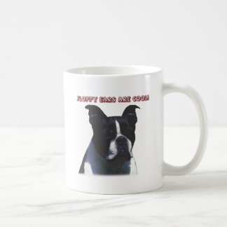 Boston Terrier:  Floppy Ears are Cool! Coffee Mug