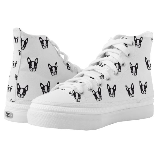 Boston Terrier / French Bulldog Sneakers