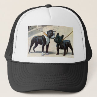 Boston Terrier  & French Bulldog Trucker Hat