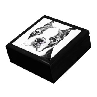 Boston Terrier Gift Box