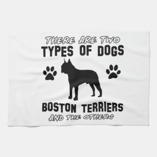 BOSTON TERRIER gift items Towels