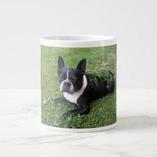 boston terrier gumbo mug
