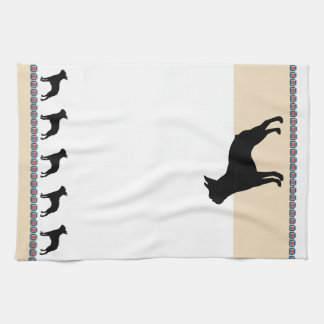 Boston Terrier Hand Towels