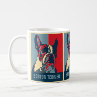 Boston Terrier Hope Inspired Coffee Mug