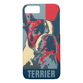 Boston Terrier Hope Inspired iPhone 8/7 Case