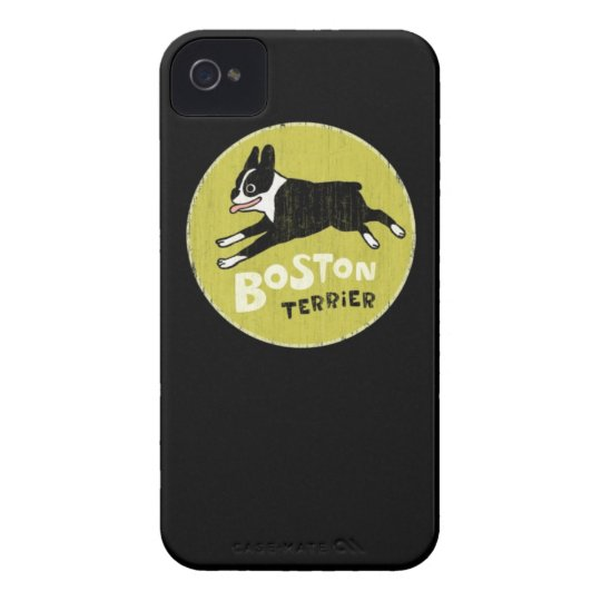 Boston Terrier iPhone 4 Covers