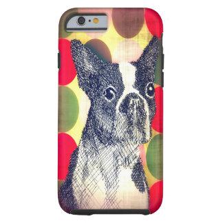 Boston Terrier iPhone 6 case Tough iPhone 6 Case