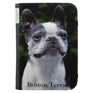 Boston Terrier Kindle Keyboard Cases