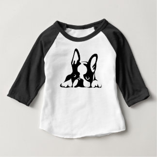 BOSTON TERRIER KOTARO & TEN TEN BABY T-Shirt