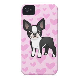 Boston Terrier Love iPhone 4 Cover
