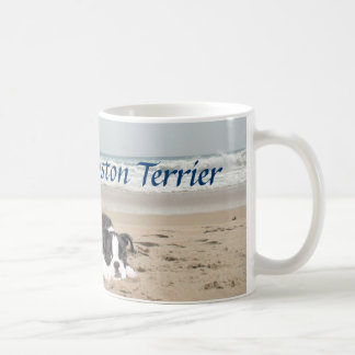 Boston Terrier Love Mug Sandcastles