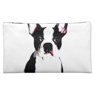Boston Terrier Makeup Bag