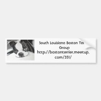 Boston Terrier Meetup Group Bumper Sticker