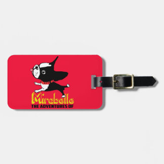 Boston Terrier Mirabelle Luggage Tag