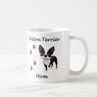 Boston Terrier Mom Basic White Mug