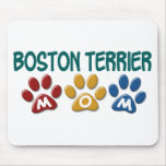 BOSTON TERRIER MOM Paw Print 1