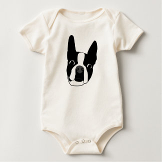 Boston Terrier (Morrisey) Baby Bodysuit