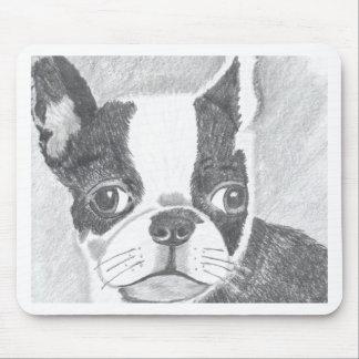 Boston Terrier Mouse Mat