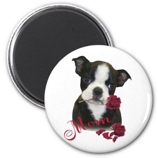 Boston Terrier  Mum Magnet