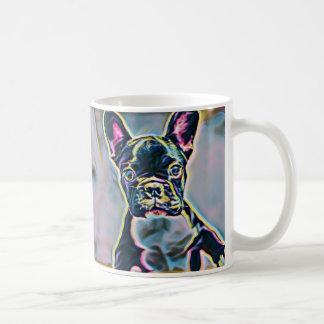 Boston Terrier Neon Mug