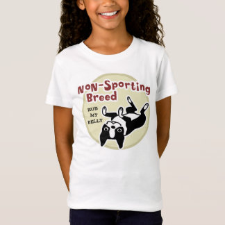 "Boston Terrier ""Non-Sporting Breed"" T-Shirt"
