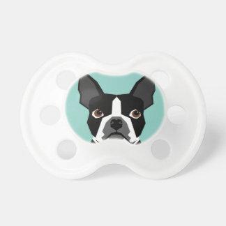 Boston Terrier Pacifiers
