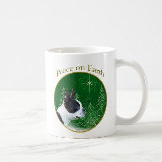 Boston Terrier Peace Coffee Mug