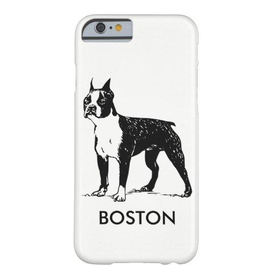 Boston Terrier phone case