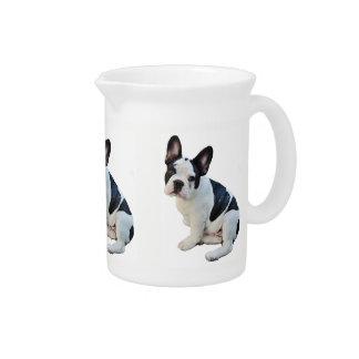 Boston Terrier Pitcher