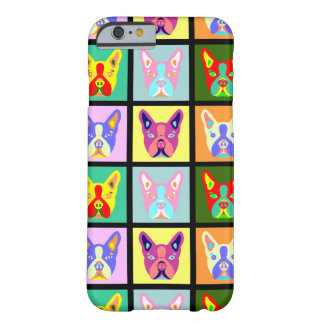 Boston Terrier Pop Art Barely There iPhone 6 Case