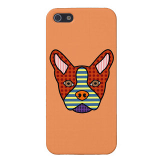 Boston Terrier Pop Art Covers For iPhone 5