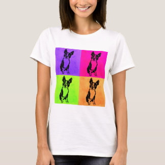 Boston Terrier pop art shirt
