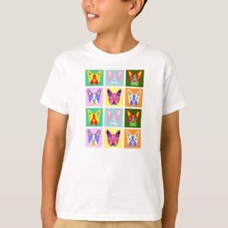 Boston Terrier Pop Art T-Shirt