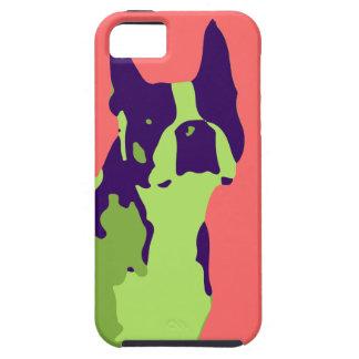 Boston Terrier Pop Art Tough iPhone 5 Case
