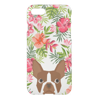 Boston Terrier red iphone case dog hawaiian phone