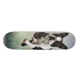 Boston Terrier Skateboard