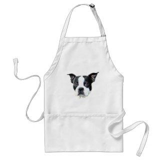Boston Terrier Standard Apron