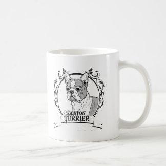 Boston Terrier T-shirt Mugs