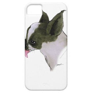 boston terrier, tony fernandes iPhone 5 cases